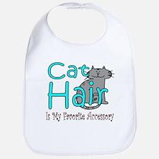 Cat Hair is My Favorite Acces Bib
