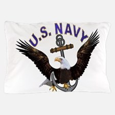 new_navy.png Pillow Case