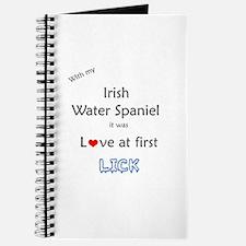 Water Spaniel Lick Journal