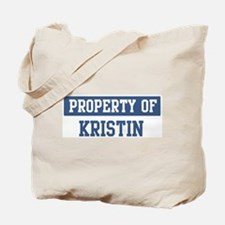 Property of KRISTIN Tote Bag