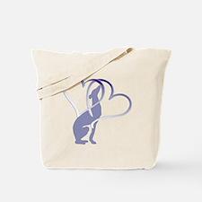 Greyhound Hearts Tote Bag