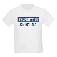 Property of KRISTINA T-Shirt