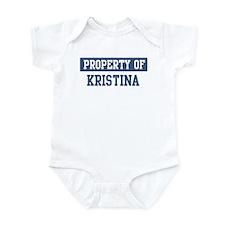 Property of KRISTINA Infant Bodysuit