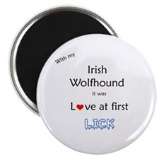 Wolfhound Lick Magnet