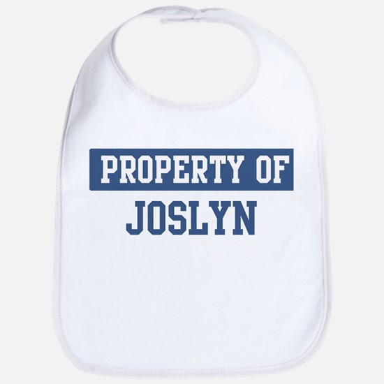 Property of JOSLYN Bib