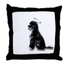 """The Saint"" Throw Pillow"