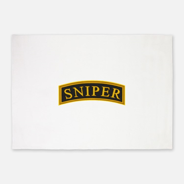 sniper0.png 5'x7'Area Rug