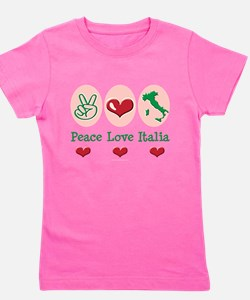 Cute Peace love pride Girl's Tee