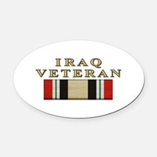 iraqmnf_3a.png Oval Car Magnet