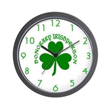 Honorary Irishperson Wall Clock