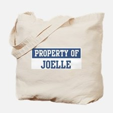 Property of JOELLE Tote Bag