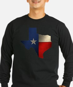 State of Texas Long Sleeve T-Shirt