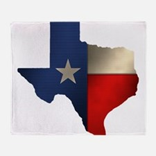 State of Texas1.png Throw Blanket