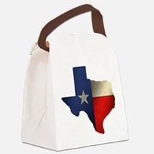 State of Texas1.png Canvas Lunch Bag