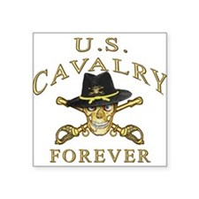 Cavalry Forever Rectangle Sticker