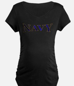 NAVY2 Maternity T-Shirt