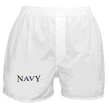 NAVY2.png Boxer Shorts