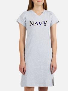 NAVY2.png Women's Nightshirt