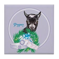 Pygmy Goat Spunkie Tile Coaster