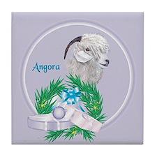Angora Goat -Angel Tile Coaster