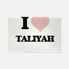I love Taliyah (heart made from words) des Magnets