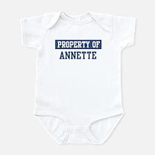 Property of ANNETTE Infant Bodysuit