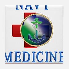 navy_medicine2.png Tile Coaster