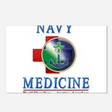navy_medicine2.png Postcards (Package of 8)