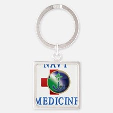 navy_medicine2 Keychains