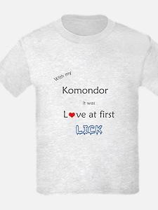 Komondor Lick T-Shirt