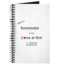 Komondor Lick Journal
