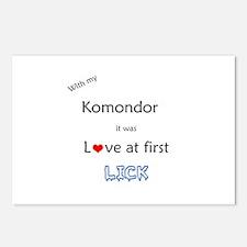 Komondor Lick Postcards (Package of 8)