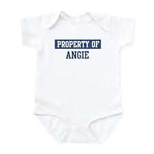 Property of ANGIE Infant Bodysuit