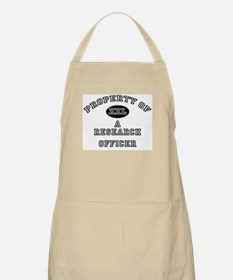 Property of a Research Officer BBQ Apron