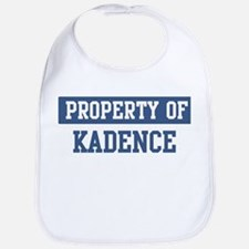 Property of KADENCE Bib