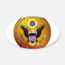 supreme_court.png Oval Car Magnet