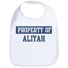 Property of ALIYAH Bib