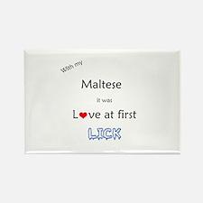 Maltese Lick Rectangle Magnet