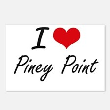 I love Piney Point Massac Postcards (Package of 8)