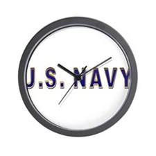us_navy2.png Wall Clock