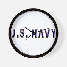 us_navy2.png Wall Clock