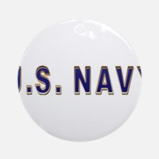 us_navy2.png Round Ornament
