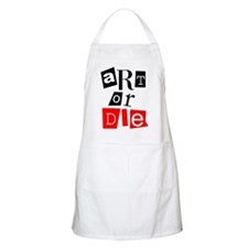 ART OR DIE BBQ Apron