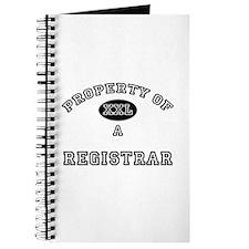 Property of a Registrar Journal