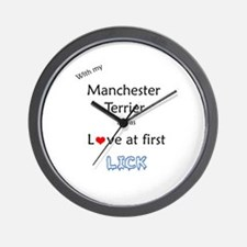 Manchester Lick Wall Clock