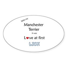 Manchester Lick Oval Decal