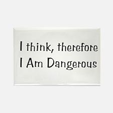 Dangerous Rectangle Magnet (100 pack)