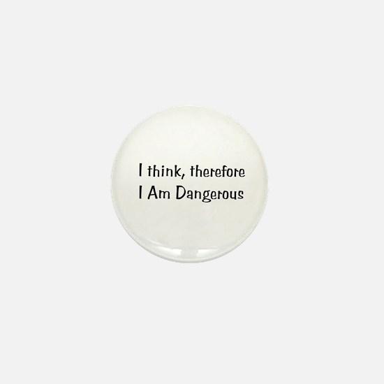 Dangerous Mini Button (100 pack)