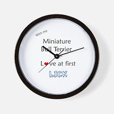 Mini Bull Lick Wall Clock