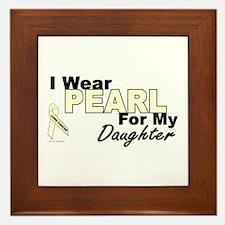 I Wear Pearl 3 (Daughter LC) Framed Tile